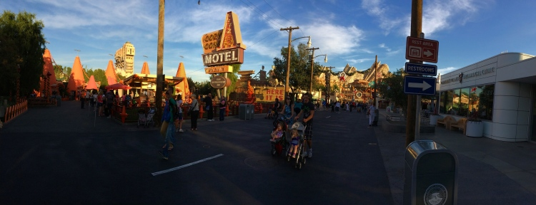 Disneyland's single biggest investment: Carsland and Radiator Springs Racers.
